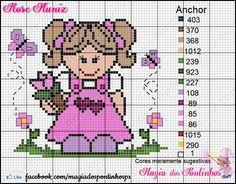 Beaded Cross Stitch, Cross Stitch Baby, Cross Stitch Patterns, Stitch Doll, Pixel Art, Hello Kitty, Knitting, Canvas, Children