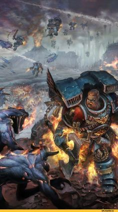 Warhammer 40000,warhammer40000, warhammer40k, warhammer 40k, ваха, сорокотысячник,фэндомы,Space Wolves,Space Marine,Adeptus Astartes,Imperium,Империум,Sven Bloodhowl,Chaos (Wh 40000)