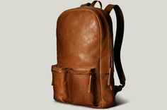 old school laptop rucksack. Laptop Backpack, Backpack Bags, Leather Backpack, Laptop Bags, Hard Graft, Fashion Bags, Mens Fashion, Casual Chique, Luggage Bags