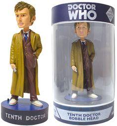 Tenth Doctor Bobble Head Figure   DAVID TENNANT NEWS UPDATES