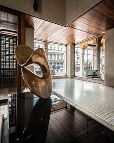 Agatha O | Olivetti Showroom. Venice, Italy. 1957-58. Carlo Scarpa