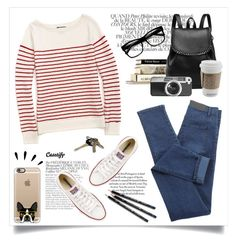 """""""Casetify"""" by yexyka ❤ liked on Polyvore featuring Bela, Casetify, Old Navy, Tommy Hilfiger, Converse and Avon"""