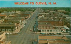 Postcard from Clovis