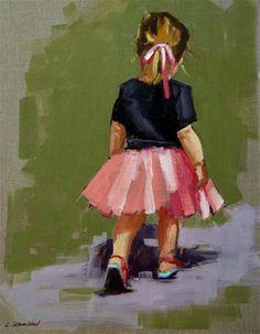 """see ya"" - Original Fine Art for Sale - © Carol Carmichael"