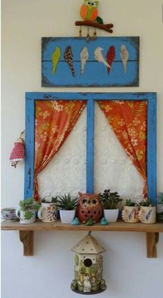Craft diy project diy handmade wood painting balcony cocokelley via oreeko Diy Craft Projects, Wood Projects, Indian Home Decor, Diy Home Decor, Home Crafts, Diy And Crafts, Handmade Crafts, Diy Y Manualidades, Painting On Wood