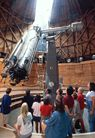 Lowell- Arizona again -    In the evening    We'll open up the telescopes (weather permitting) and view Jupiter, the Moon, star clusters, and more, all with the assistance of our educators. You can also enjoy presentations at our portable planetarium, exploring the night sky and flying to the edge of the Universe.
