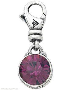 Sterling Silver, Swarovski Crystal.