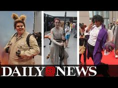 Cosplay At It's Best NYCC 2016 - Video --> http://www.comics2film.com/cosplay-at-its-best-nycc-2016/  #Cosplay