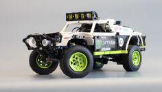 More Monster Truck Lego Technic Truck, Lego Truck, Jeep Wheels, Hot Wheels, Motocross Videos, Lego Structures, Weird Cars, Crazy Cars, Trophy Truck