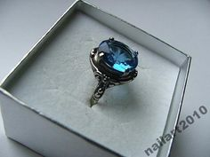 srebrny pierścionek 925 oksyda filigran NOWY !