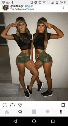 Looking for Best DIY College Halloween Costume Ideas? Get your hands on the finest Halloween costumes for college & college couple Halloween costume here. Army Halloween Costumes, Army Girl Costumes, Couples Halloween, Cute Costumes, Matching Costumes, Abc Party Costumes, Sexy Army Costume, Halloween Outfits For Women, Amazing Costumes