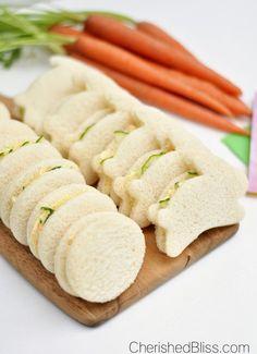 Cucumber Sandwiches: Easter Tea