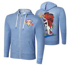"New Day ""Feel the Power"" Unisex Lightweight Full-Zip Hoodie Sweatshirt"