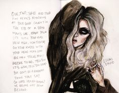 Taylor momsen the pretty reckless                Pure genius In the art work!