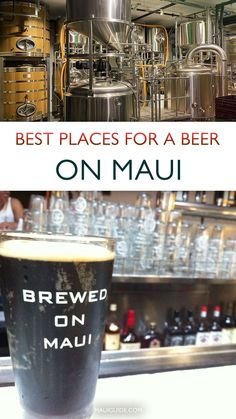 From Maui's most popular restaurants and bars to incognito saloons, local beers can be found on draft just about everywhere. To save you some time drinking your way across the island, we'll break down some of the best local watering holes, happy hours, and breweries to visit. #beer #mauibeer #brewery #breweries #mauibrewingco #mauihawaii #party Best Chicken Wing Recipe, Chicken Wing Recipes, Maui Restaurants, Beer Industry, Plate Lunch, Wine List, Best Beer, Brewing Co