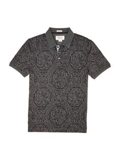 WALLPAPER PRINTED POLO // Original Penguin