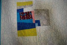 detail of bluebird quilt