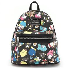 a366d4c84a04 Hello Sanrio Multi Character Mini Backpack