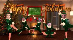 Elf yourself House party
