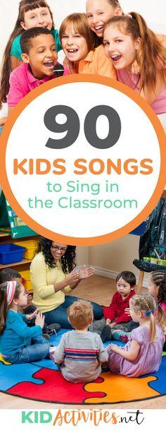 90 Elementary & Preschool Songs for Kids to Sing - Top 30 Kids Songs