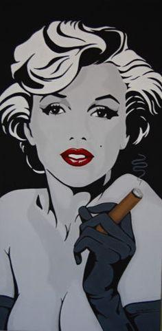 Pop art  #MarilynMonroe