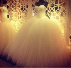 The most beautifulest wedding dress, little less puffy thou