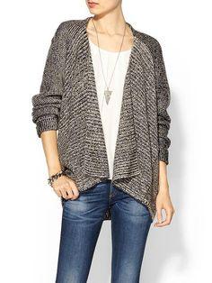 Velvet...LOVING this sweater!