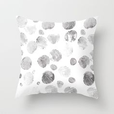 Dots Throw Pillow by siobhaniaa - $20.00 Dots, Tapestry, Throw Pillows, Bed, Home Decor, Stitches, Hanging Tapestry, Tapestries, Toss Pillows