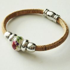 Typical Jewellery Portuguese Cork Bracelet by VianaStore on Etsy