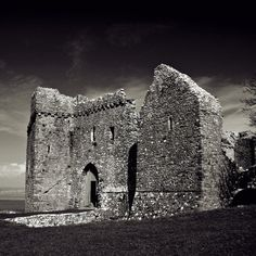 Weobley Castle, Llanrhidian - One of the spectacular places to visit along the Wales Coastal Path