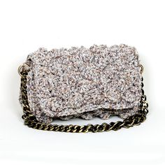 Handmade crochet flap bag Handmade Bags, Tweed, Handbags, Crochet, Fashion, Purses, Chrochet, Moda, Handmade Purses