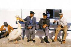 Στιγμές ανεμελιάς από την παλιά Μύκονο! #mykonos Old Time Photos, Old Pictures, Greek Islands, Naive, Mykonos, Eye Candy, Greece, Disney Characters, Fictional Characters