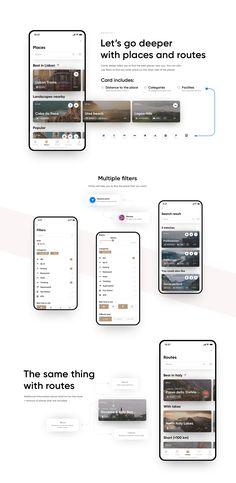Design portfolio presentation layout behance Ideas for 2019 Ios App Design, Web Design, Interface Design, Design Color, User Interface, Graphic Design, Ui Portfolio, Presentation Layout, Portfolio Presentation