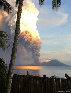 Wow!   Papau New Guinea volcano eruption.  8/29/2014
