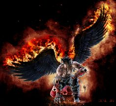 Devil Jin Tekken Video Games Background Wallpapers On Desktop