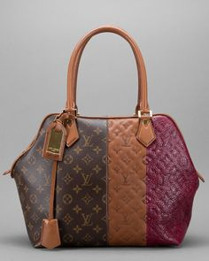 Some of you have to get in on this: Louis Vuitton Monogram Bordeaux Blocks Tote Bag