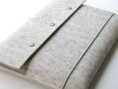 11 Macbook Air // wool felt laptop sleeve in N A by JoynerAvenue Macbook Sleeve, Macbook Air, Laptop Case, Laptop Sleeves, Wool Felt, My Style, North Carolina, Lady, Products