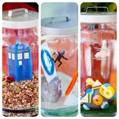 Crazy cool and Nerdy Centerpieces