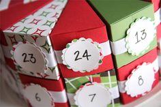 Adventi kalendárium, dobozok