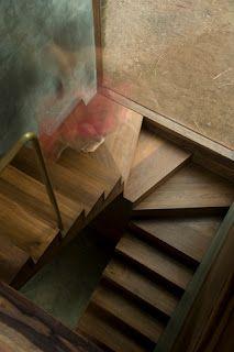 Stair & window relationship by Studio Mumbai Architects, Palmyra house