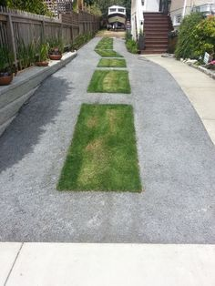 Images about driveway ideas with grass #drivewayrampideas