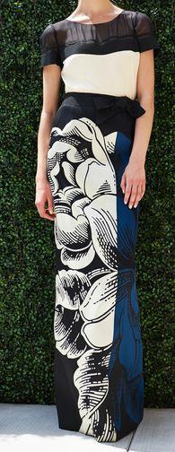 skirt! RESORT 2014 Carolina Herrera