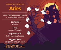 Halloween #Aries! http://madamastrology.com  Free #Astrology Natal Chart Reading  & #Horoscope (for the 50% discount write to madamkighal@madamastrology.com)