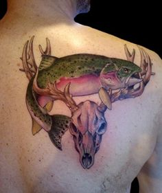 Deer Tattoos, Designs And Ideas : Page 26