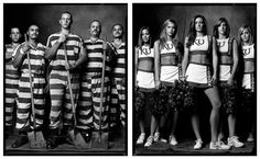 'Created Equal' is an incredible photo project by Detroit-born photographer Mark Laita that explores the contrasts between different social backgrounds...