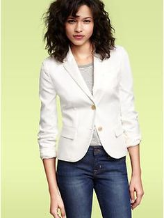 Just bought this today!! I was in desperate need for blazers this season @gap $99