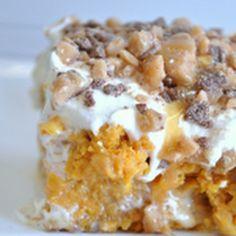 Pumpkin Better Than Sex Cake - Healthy Cooking Recipes | Healthy Cooking Recipes. I just died.