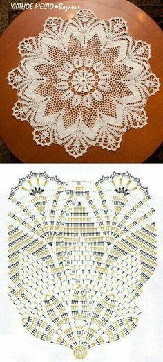Captivating All About Crochet Ideas. Awe Inspiring All About Crochet Ideas. Filet Crochet, Crochet Doily Diagram, Crochet Doily Patterns, Crochet Chart, Thread Crochet, Irish Crochet, Crochet Motif, Crochet Designs, Crochet Lace