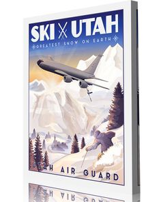 Share Squadron Posters for a 10% off coupon! Utah ANG 191st Air Refueling Squadron #http://www.pinterest.com/squadronposters/