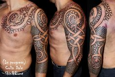 Some new dragons this week from around the globe  Funny, I just realized that I haven't tattooed anyone fron Copenhagen in more than a cou...